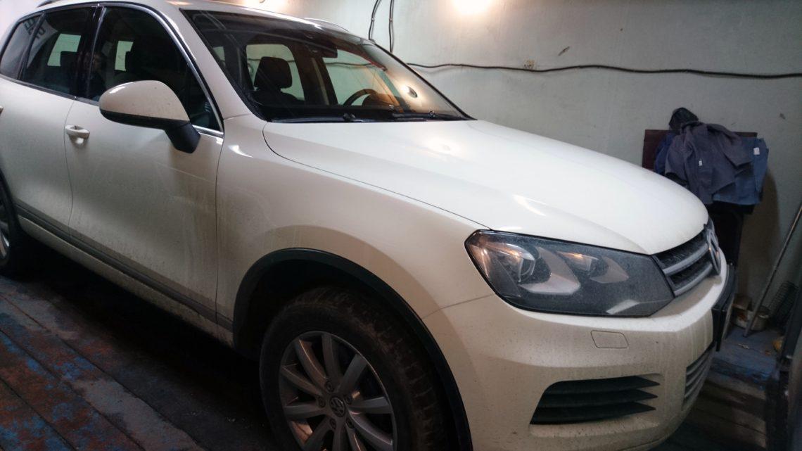 Камера на  VW Touareg 2011