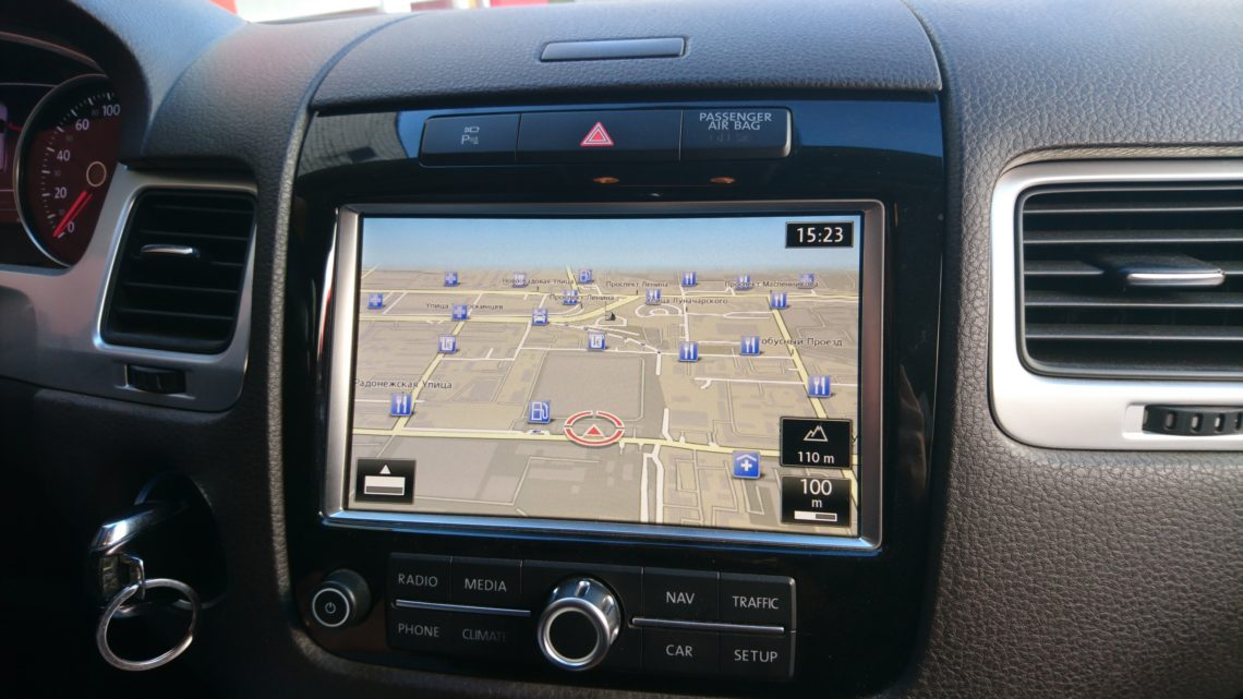 Обновление навигации VW Touareg NF 2011