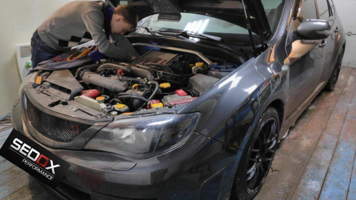 Ошибка P0037 Subaru Impreza WRX 2007