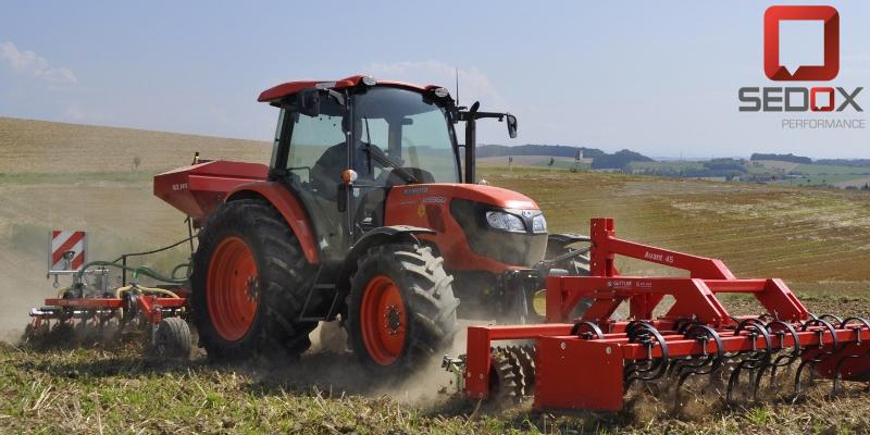Tractor Kubota DPF OFF