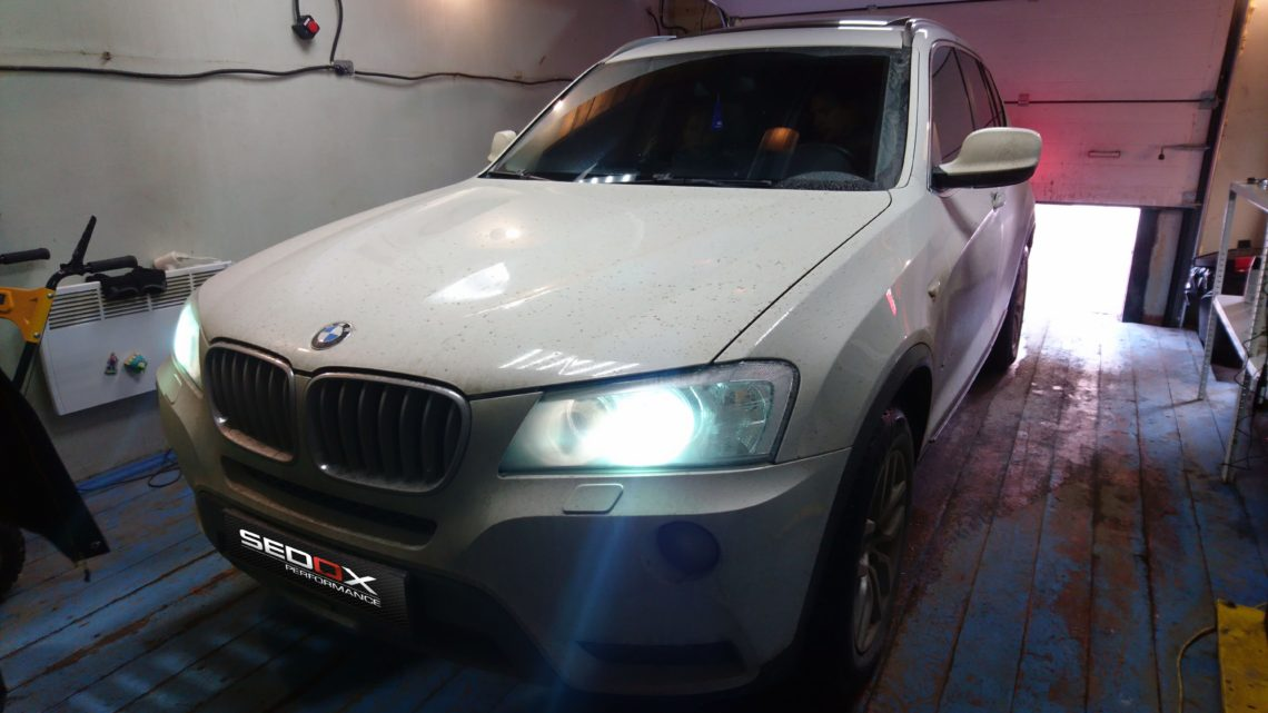 Чип тюнинг BMW X3 28i F25