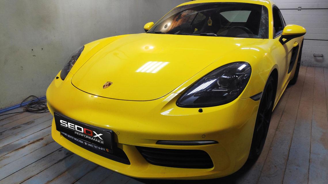 Чип-тюнинг Porsche Cayman S