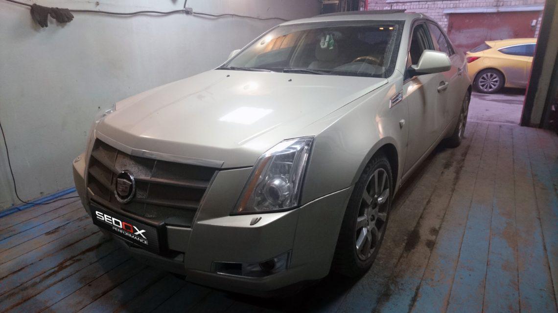 Чип-тюнинг Cadillac CTS