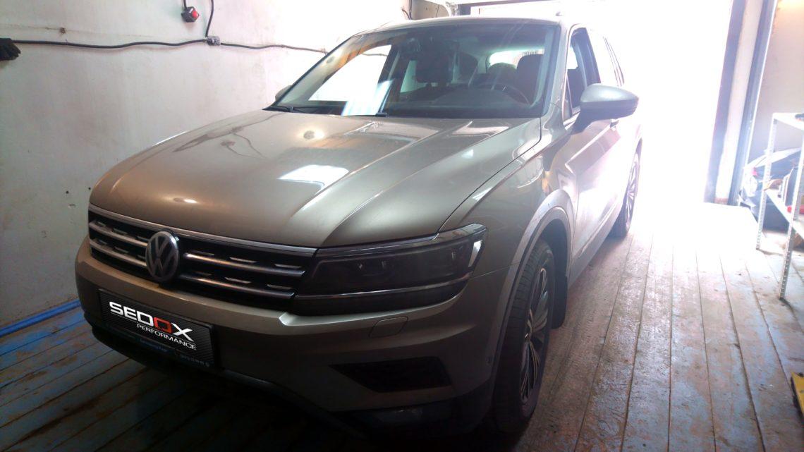 Чип-тюнинг Volkswagen Tiguan