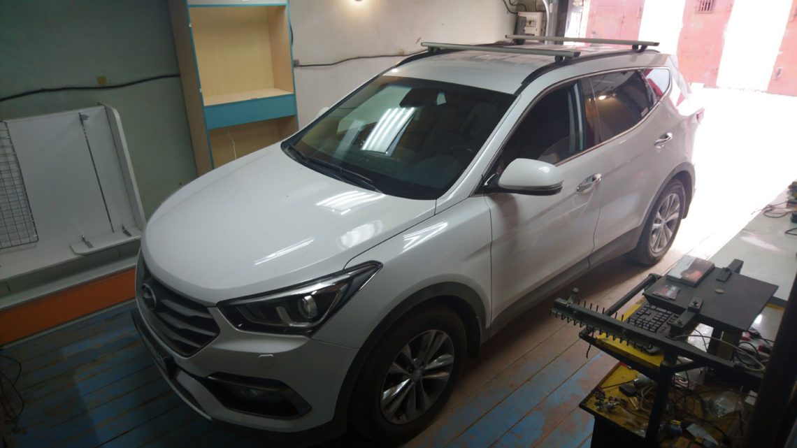 Чип-тюнинг Hyundai SantaFe