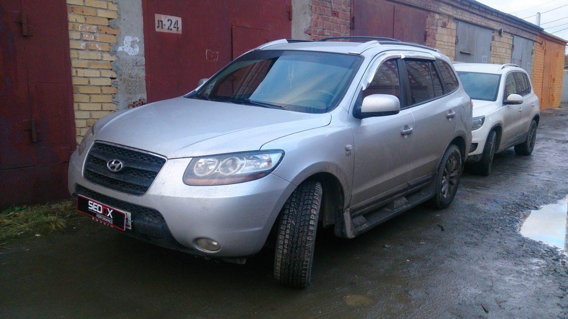 Чип-тюнинг. Hyundai Santa fe 2008 2.2 153hp турбодизель.