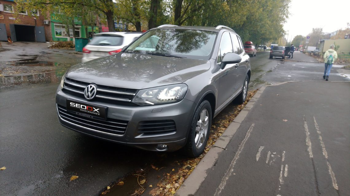 Чип-тюнинг VW Touareg
