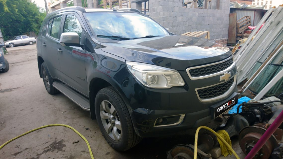 Чип-тюнинг Chevrolet Trailblazer