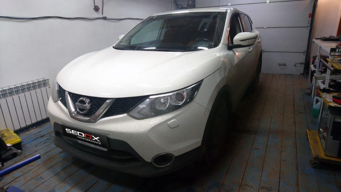 Чип-тюнинг Nissan Qashqai